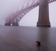 foggy Forth railbridge, Scotland by paulreid1975