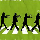 Zombies on Abbey Road (Version 01) by soulthrow