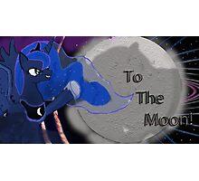 Luna's lunar lamention Photographic Print