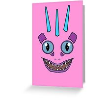 Pink Murloc Greeting Card