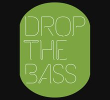Drop The Bass (geometric) neon by DropBass