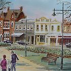 Nelson Place, Williamstown by Virginia  Coghill