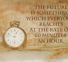 Pocket Watch Time Quote  by Sandra Foster