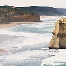 Great Ocean Road Art by PerkyBeans