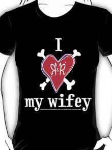 I heart my wifey <3 - dark colours T-Shirt