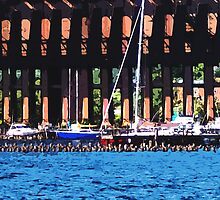 Harbor Docks by perkinsdesigns