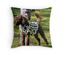 Guess who I belong to? Throw Pillow
