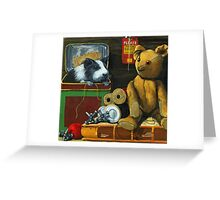 In the Attic - painting Greeting Card