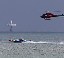Eastbourne Extreme Power Boat 2012 by Shane Ransom