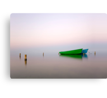 Zen boats Canvas Print