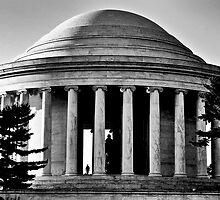 Jefferson Memorial  by Chad Eastman