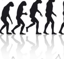 Football Evolution Sticker