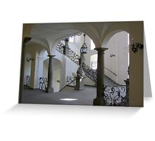 Is this a boring stairway? Greeting Card