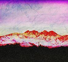 purple sunset by SianStargazer