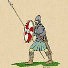 Anglo-Saxon Warrior by RHFay