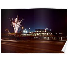 Chicago White Sox Homer fireworks Poster