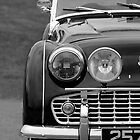 Triumph TR3 iPhone case by Martyn Franklin