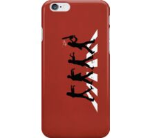 Zombies on Abbey Road (Version 02) iPhone Case/Skin