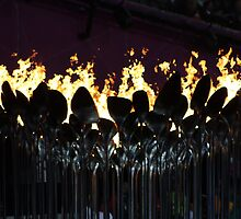 Olympic Flame by dsimon