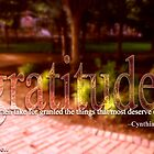 Gratitude. by uncloudless