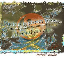 Haikui Haiku by J Leslie  Booth