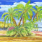Belm palmtrees by tereza del pilar