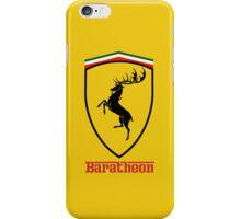 Ferrari - Baratheon iPhone Case/Skin