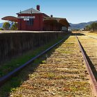 The Wallan-Garra Railway Station by Sea-Change