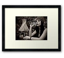 I'll wait for as long as it takes Framed Print