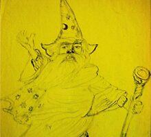 Old man Wizard Storm by MardiGCalero