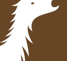 Dinosaur Family Crest: Therizinosauria Sticker