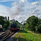 Leaving Corfe 3 by Mike Streeter