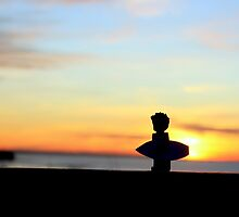 Mr Wooty. The sunrise surfer. by Trace McLean