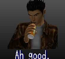 "Shenmue - Ryo Drinking ""Ah good."" by CountLatchula"