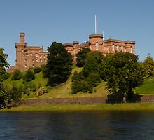 Inverness Castle by Peter Mackenzie