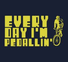Everyday I'm Pedallin' Kids Clothes