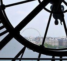 Musée d'Orsay Clock by artyamie