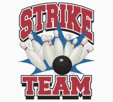 Bowling Strike T-Shirt by SportsT-Shirts