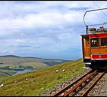 Snaefell Views towards Peel Isle of Man by youmeus
