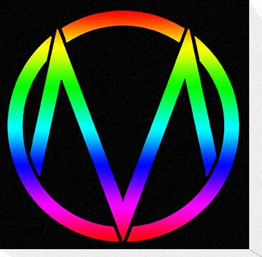 The Maine - Band  Logo Rainbow by Kingofgraphics
