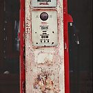 Vintage Gas Pump by photecstasy