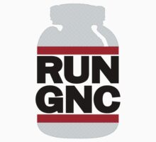 RUN GNC on White by popnerd