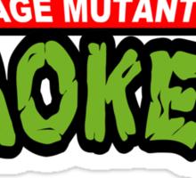 Teenage Mutant Dope Smokers Sticker