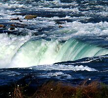 Rim of Niagara Falls by Eva Kato