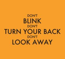 Don't Blink by Onny Carr