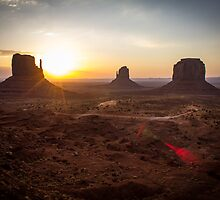 Sunrise, Monument Valley by Philip Kearney