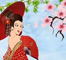 Geisha (3696 views) by aldona