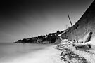 Smooth St. Mawes Daybreak BW by Andy Freer