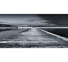 Newcastle Ocean Baths - The Path Photographic Print