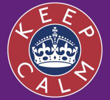 KEEP CALM ROUNDEL iv by GraceMostrens